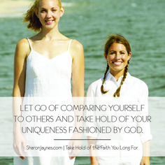 If there's one thing I know it's this: Comparison is the devil's tool that has kept many of us gals from stepping into our God-given destinies…and it's time to stop! You know I've been camping out with Moses by the burning bush for over a year while writing Take Hold of the Faith You Long …