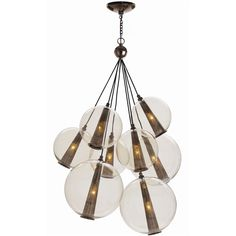 Arteriors | Caviar Adjustable Large Cluster.51-87H 28.5diam