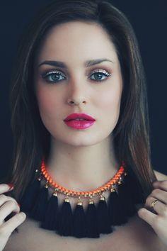 Chloe Morello looking stunning as always in her mineral makeup. www.mineralmakeupmarket.com