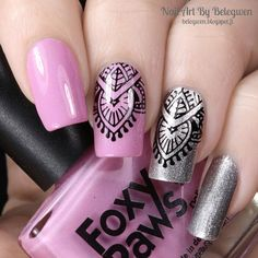 Nail Art by Belegwen: Zoya Trixie and Foxy Paws Primadonna