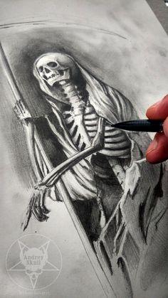 Death by AndreySkull.deviantart.com on @DeviantArt