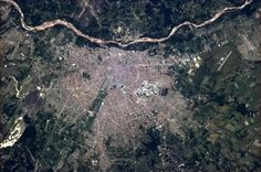 Chris Hadfield originally shared this post: Santa Cruz de la Sierra, a major business hub in Bolivia, home to about 2 million of us. More photos from Chris Hadfield Space Photos, More Photos, Bolivia, Chris Hadfield, Business Hub, Earth From Space, Aerial Photography, Aerial View, City Photo