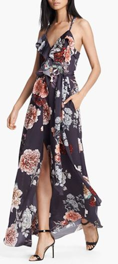 Lovely L'Agence Floral Dress http://rstyle.me/n/e7tetr9te