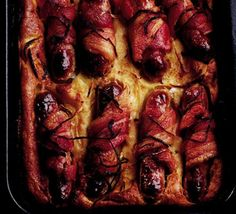 Ultimate toad in the hole. One of my favourites! Quite filling though - my boyfriend slept for 14 hours, the first time I made this! Excellent comfort food...... and nap time.