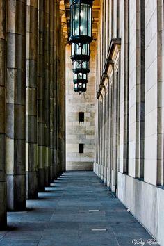 The hallway of Law School (Universidad de Buenos Aires)