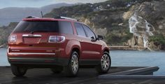 2014 GMC Acadia Rear View