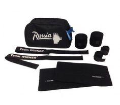 Klokov Winner Training Pack (Shoes Bag,Wrist & Knee Bandages,Knee Sleeves,Straps)