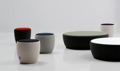 Chat stools by Nadadora for Sancal - Isaac Pinero and Cristina Alonso