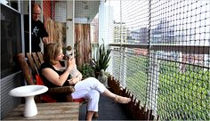 Cat's Balcony Scene, on Enclosed Spaces Called 'Catios' - NYTimes.com
