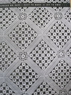 Vintage Crochet Favorite Bedspreads by Bucilla by KendallsCrochet