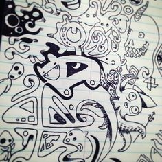A #doodle with @lexolotl :) so much fun!
