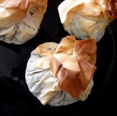 15 minute Spinach, Feta and Chickpea parcels. The phyllo dough was a little too delicate, next time try with puff pastry