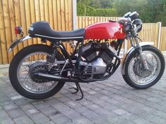 SWEET : ] http://www.pinterest.com/pauliepaul/ ..And this is mine! Morini Sport. Ceriani GP forks, Grimeca 4LS brake and Valentini 400 kit plus 2 into 1. Will be on the road again quite soon!