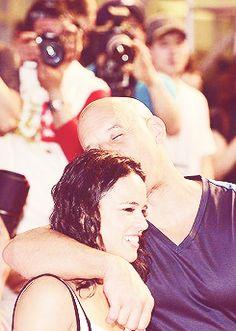 Michelle Rodriguez and Vin Diesel attend the 'Fast & Furious 6' South Korea Premiere. - Michelle Rodriguez Fan Art (34468839) - Fanpop fanclubs