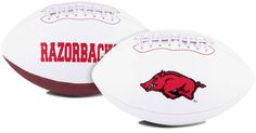 Arkansas Razorbacks Football Full Size Embroidered Signature Series