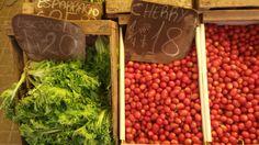 escarola (esp) / escarola (port)  cherry (esp) / tomate cereja (port)
