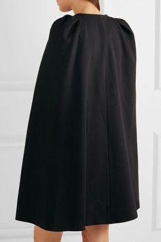 Giambattista Valli - Convertible Guipure Lace-paneled Crepe Dress - Black - IT40