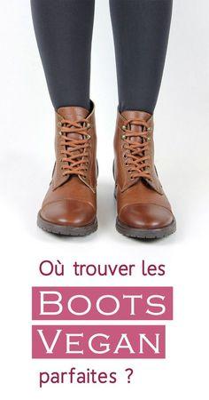 Chaussures vegan où trouver les boots parfaites