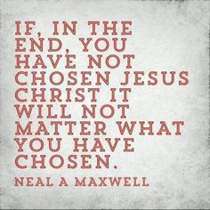 Choose Christ // Truth // One Way