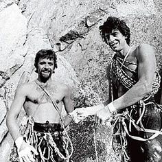 Rockclimbing in Yosemite: Timmy O'Neil and Dean Potter in 2001 from Valley Uprising film