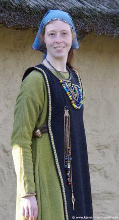 Another interpretation of Gotlandic attire of the Viking age by Kjersti Martinsdottir.