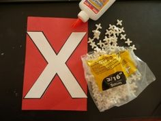 Letter activities - Letter of the Week ~ X ~ X tile spacers A Mom With A Lesson Plan – Letter activities Homeschool Preschool Curriculum, Preschool Literacy, Preschool Lessons, Preschool Activities, Kindergarten, Preschool Worksheets, Letter X Crafts, Alphabet Crafts, Letter Art
