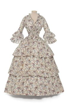1855 - Summer dress - Printed cotton