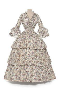 1855 - Summer dress - Printed cotton