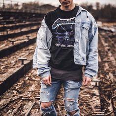Tenue grunge – héritage des années 90