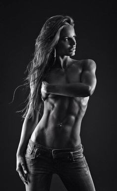 Fitness Girls.... again... why do muscular guys look so bad, and muscular women look so good?