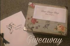 Giveaway Box ~ Dear Diary Blog