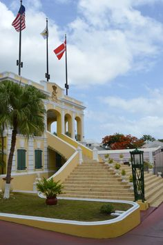 Government House, Christiansted, St. Croix, US Virgin Islands, USVI
