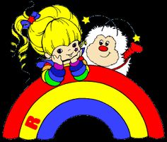 Rainbow Brite is my favorite ever!!!! Her, Strawberry Shortcake and Popples. What can I say...I'm a child of the 80's!