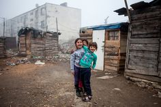 """Roma neighborhoods of eastern Slovakia """"The Roma are the largest—at around 12 million people—and most disadvantaged ethnic minority in Europe. Throughout the continent they face severe. Chicago School, Documentary Photographers, Sociology, Eastern Europe, Continents, Past, The Neighbourhood, Around The Worlds, Cinema"""