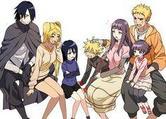 Wouldn't that mean Naruto as a genderbend married to Sasuke make a overpowered daughter? Naruto Kakashi, Naruto Shippuden Sasuke, Sarada Uchiha Manga, Naruto Anime, Naruto Comic, Naruto Funny, Sasunaru, Narusasu, Naruhina