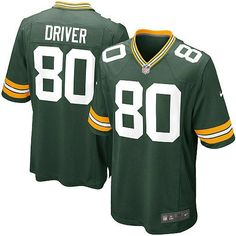 Men's Green Nike Limited Green Bay Packers #80 Donald Driver Team Color NFL Jersey$89.99