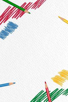 Powerpoint Background Design, Background Design Vector, Kids Background, Paper Background, Art Certificate, Creative Instagram Photo Ideas, Cute Patterns Wallpaper, Frame Template, Watercolor Texture