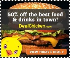 50% Off the Best Food and Drinks in your town