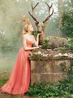 Summer Season - Gabriella Wilde in Town & Country Magazine UK Summer 2017 - Dior