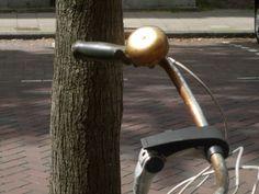 golden bike bell