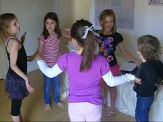 Down Baby Down clapping game played with several children. Orff Activities, Activities For Kids, Hand Clapping Games, Hand Games, Down Down Baby, Miss Mary Mack, Singing Games, Music Games, Scout Games
