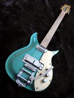 1958 Rickenbacker Combo 850 in teal metallic