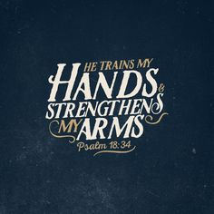 Psalm 18:34