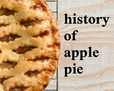 What's more American than a just baked, straight out of the oven, old-fashioned apple pie? Turns out, a lot of things. Learn the history of apple pie and check out Blue Ribbon apple pie recipes! Apple Pecan Pie, Apple Cranberry Pie, Apple Pie Recipes, Gourmet Recipes, Yummy Recipes, Colonial Recipe, Old Fashioned Apple Pie, Perfect Apple Pie, Sour Fruit