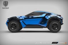 Zarooq Sand Racer to tear across the desert (and pavement, too)