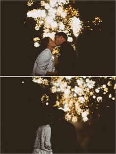 fireworks at wedding http://www.weddingchicks.com/2013/12/05/diy-wildflower-wedding/