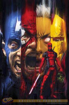 Deadpool vs Marvel Universe