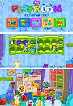 Playroom Lessons with Max Learning App - learn and play all in one #kidsapps