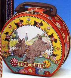 Mary Engelbreit Scottie Lunch Box