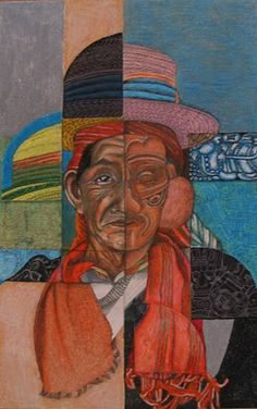 Art Education Daily: a cultural heritage cubist portrait lesson plan